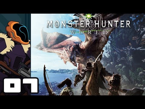 Let's Play Monster Hunter World - PS4 Gameplay Part 7 - Come On Steamtrain!