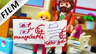 Playmobil Film Deutsch WIE WAR MAMA IN DER SCHULE? GUTE ODER SCHLECHTE NOTEN? Familie Vogel
