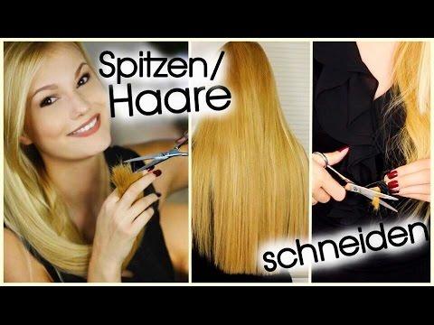 Spitzen Selber Schneiden Lange Haare Der Test Youtube
