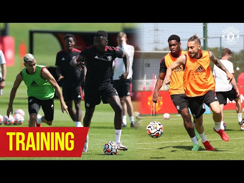 Training | Reds step up pre-season preparation ahead of Sunday's game at Derby | Manchester United