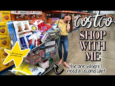 COSTCO GROCERY HAUL + SHOP WITH ME VLOG // 2019