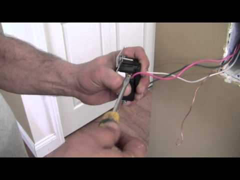 hook up lutron dimmer switch