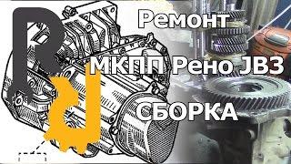 Сборка МКПП Рено JB3