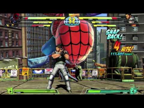 E3 Gameplay 1 - MARVEL VS. CAPCOM 3