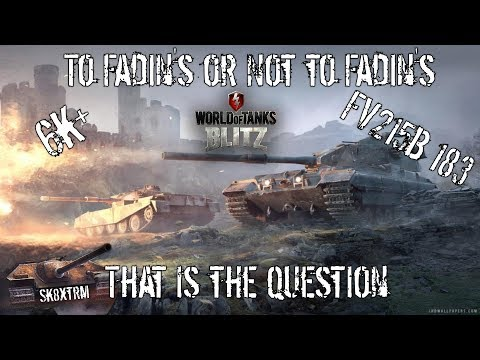 To Fadin\'s or not to Fadin\'s, That is the question! FV215B183 Mastery - Wot blitz