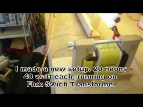 Thumbnail: WITTS Flux Switch Transformer (FST) Replication: 74W in, 500W out
