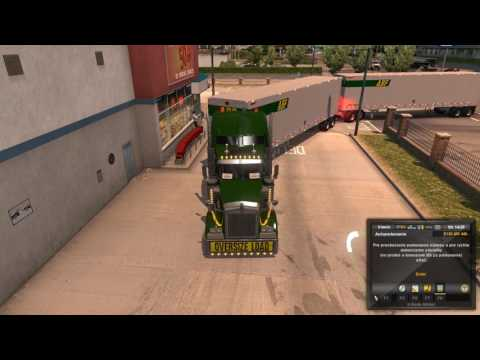 American Truck Simulator Double Parking