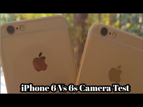 iPhone 6 Vs 6s Camera Test (2018)
