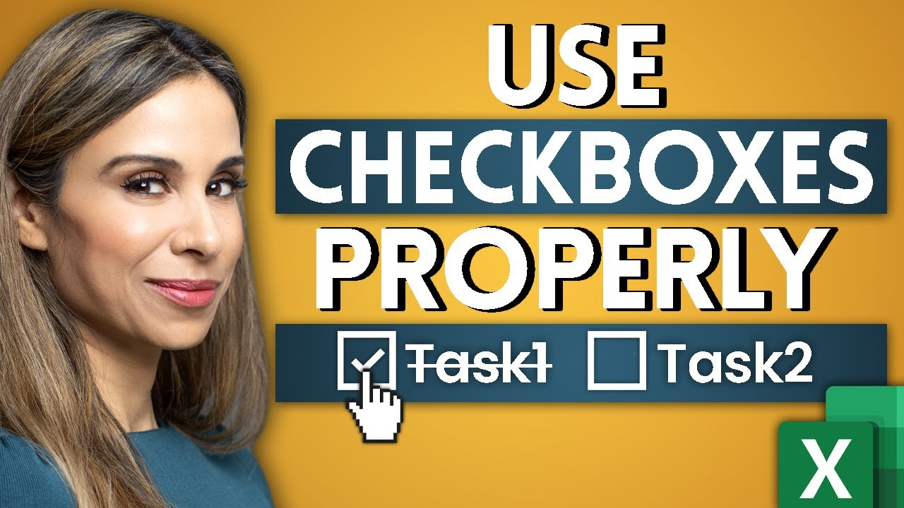How to Use Excel Checkboxes | Interactive Checklists & Reports