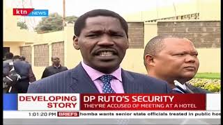 Developing: 3 cabinet secretaries summoned to DCI over claims of planning to harm DP Ruto