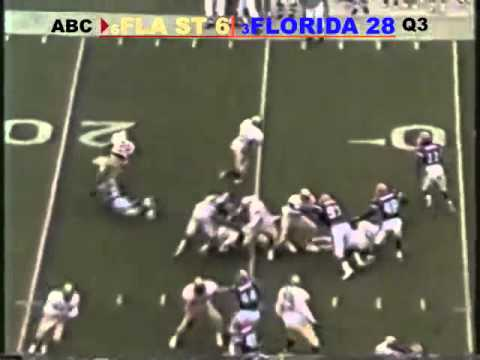 1995: #3 Florida Gators vs #6 Florida State Seminoles