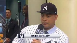 Giancarlo Stanton on joining the New York Yankees