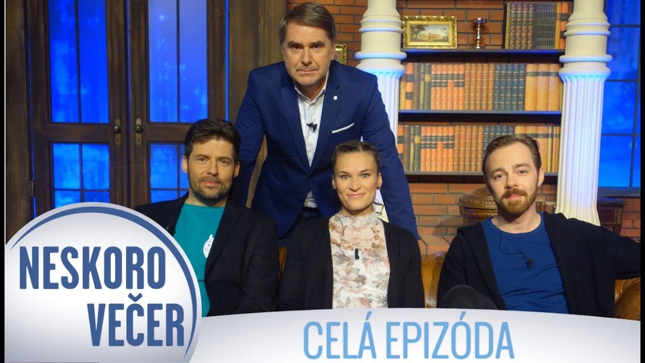 """Peter """"Šarkan"""" Novák, Tomáš Grega a Stanislava Škvarková v Neskoro Večer - CELÁ EPIZÓDA (167)"""