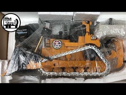RC BULLDOZERS UNBOXING ||  METAL GEARBOX TRACK CONVERTED TO HOBBY RC || REVIEW AND TESTED By KTTV