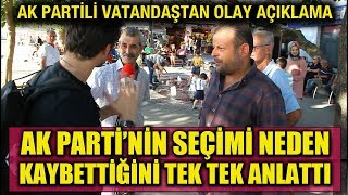 Vatandaşa sorduk: Ak Parti İstanbul'u neden kaybetti?