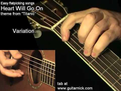 Heart Will Go On - TITANIC: Acoustic Guitar Lesson + TAB by ...