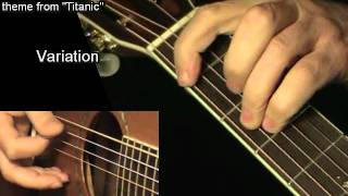 Heart Will Go On - TITANIC: Acoustic Guitar Lesson + TAB by GuitarNick