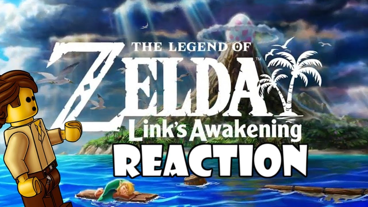The Legend of Zelda Link's Awakening Trailer REACTION