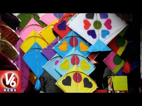 Special Story On Patang Bazaar In Dhoolpet   Kites Business In Hyderabad   V6 News