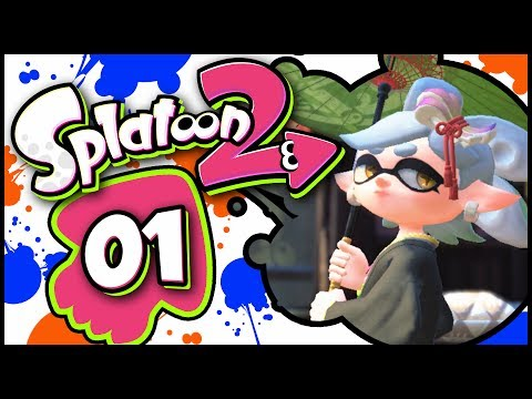 Splatoon 2 - Part 1 | Return of the Octarians! [Octo Canyon