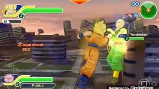 UN NOUVEAU JEUX DRAGON BALL Z ! SUR PSP