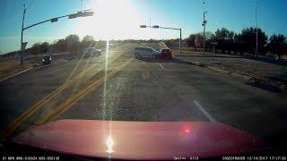 Sherman TX Crash Dashcam Crash 12/14/17
