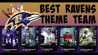 UPDATED BEST RAVENS THEME TEAM ** GOD SQUAD ** THEME BUILDERS 2 MADDEN 20 ULTIMATE TEAM