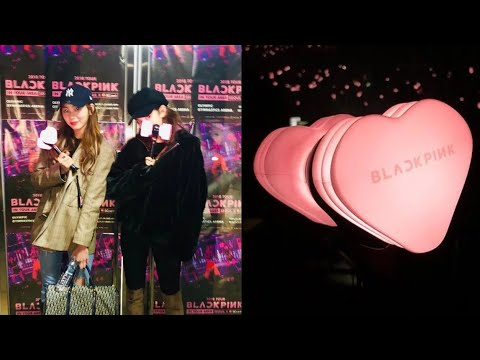Jeon Somi and CLC's Eunbin showed love for BLACKPINK at their concert