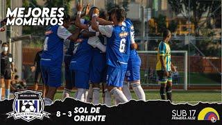 ARCO ZARAGOZA 8 - 3 Sol de Oriente   MEJORES MOMENTOS   Torneo Nacional sub 17 Primera Fase