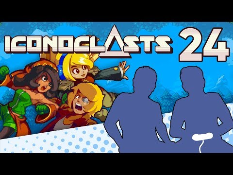 Iconoclasts - PART 24 - Team Minlobbin! Killahs! - Let's Game It Out |