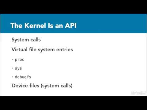 004 What is the Linux kernel - Linux Kernel Fundamentals
