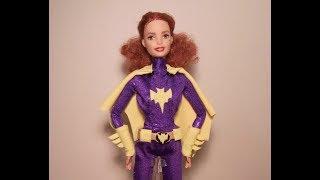 ♥ Barbara Gordon (Batgirl) OOAK Barbie doll  review! ♥