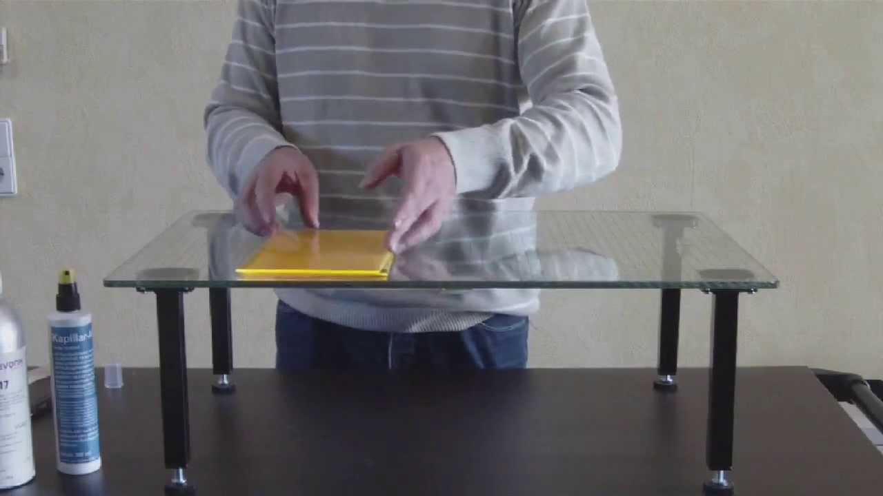 how to make acrylic butt joints sto verklebung mit acrylglas youtube. Black Bedroom Furniture Sets. Home Design Ideas