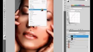 подробный урок по ретуши кожи в фотошопе