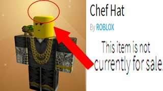 ROBLOX DELETED MY HAT AND REMOVED IT FROM THE GAME!