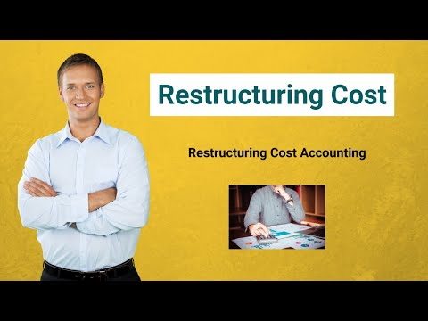 Restructuring Cost   Definition   Restructuring Cost Accounting