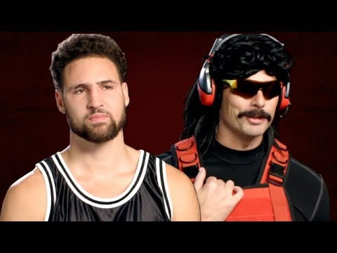 Klay and Dr Disrespect with Klay being Klay