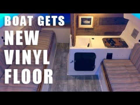 Sailboat Restoration: Wood Trim & Vinyl Floors