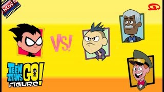 Teen Titans Go Figure! New Opponents, New Challenges