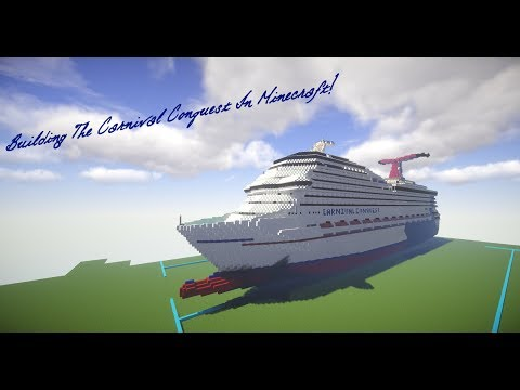 Building Carnival Conquest In Minecraft! Ep.1