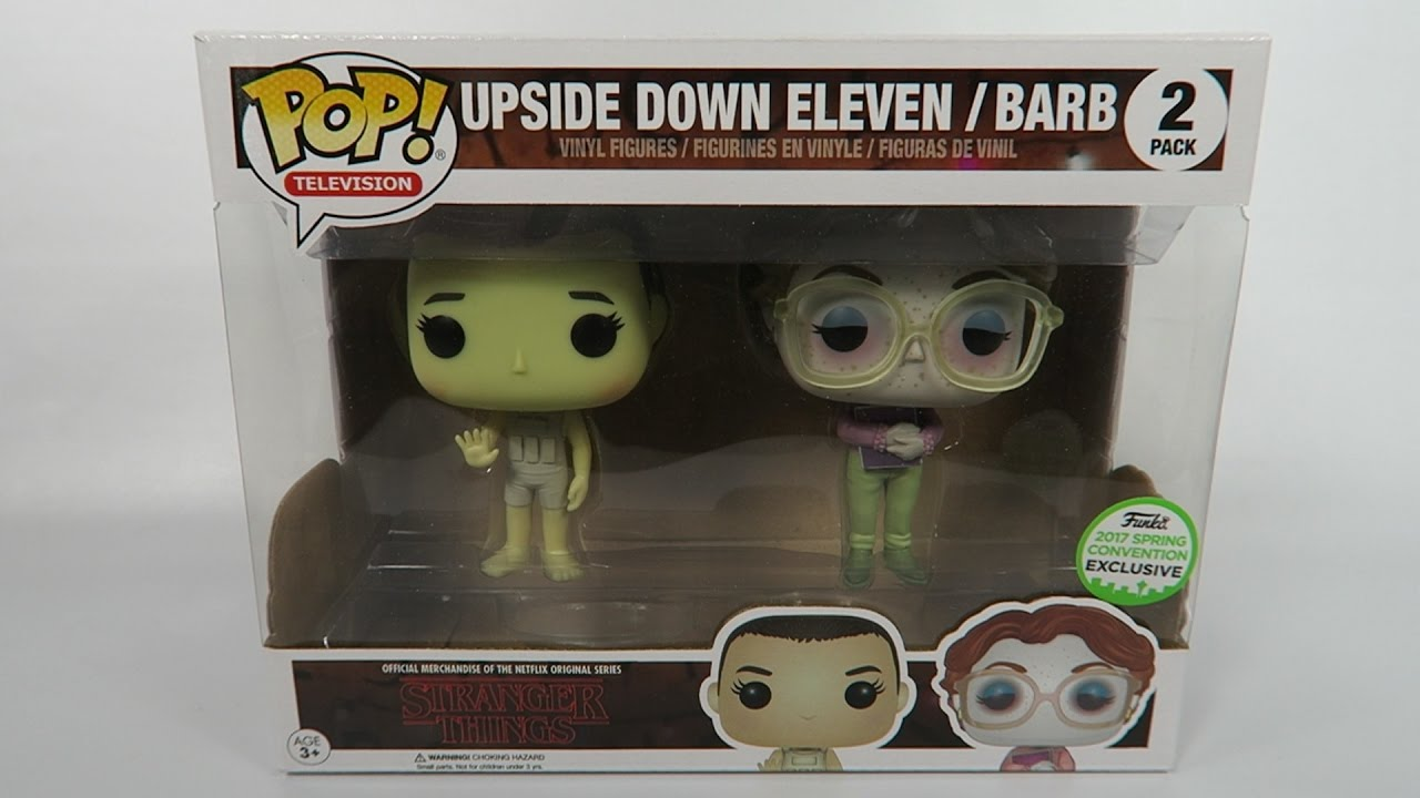 Funko Pop Stranger Things Upside Down Eleven Barb 2 Pack