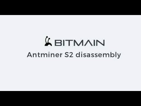 Bitmain Antminer S2 How To Disassemble