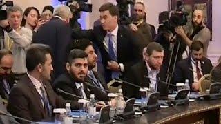 В эти минуты в Астане проходят переговоры по Сирии 23/01/2017