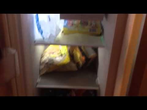 Beko ASL141w American fridge freezer