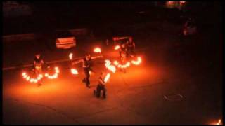 Fire Show на свадьбе Алексея и Анны