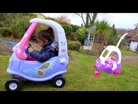 Ride On Cozy Coupe - Doll Size Cozy Coupe-Children Song