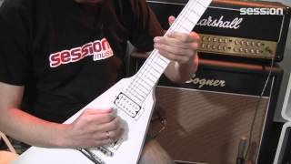 Gibson Brendon Small Snow Falcon Flying V