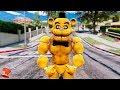 BRAND NEW BUFF FREDDY ANIMATRONIC! (GTA 5 Mods For Kids FNAF RedHatter)