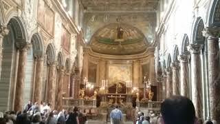 Festa di San Marco Evangelista - 25 Aprile 2018 - Musica d'organo e panoramica Chiesa