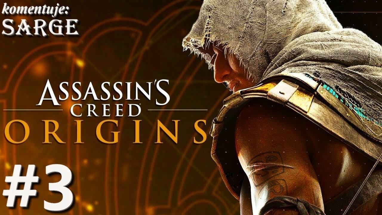 Zagrajmy w Assassin's Creed Origins [PS4 Pro] odc. 3 – Bezwzględność żołnierzy w Siwie